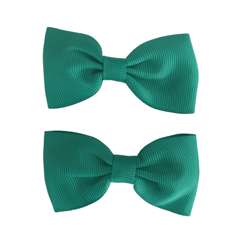 Bowtie Clip (2pc) - Hair clips - School Uniform Hair Accessories - Ponytails and Fairytales