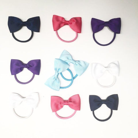 Bowtie Set (10pc) - Ponytails and Fairytales