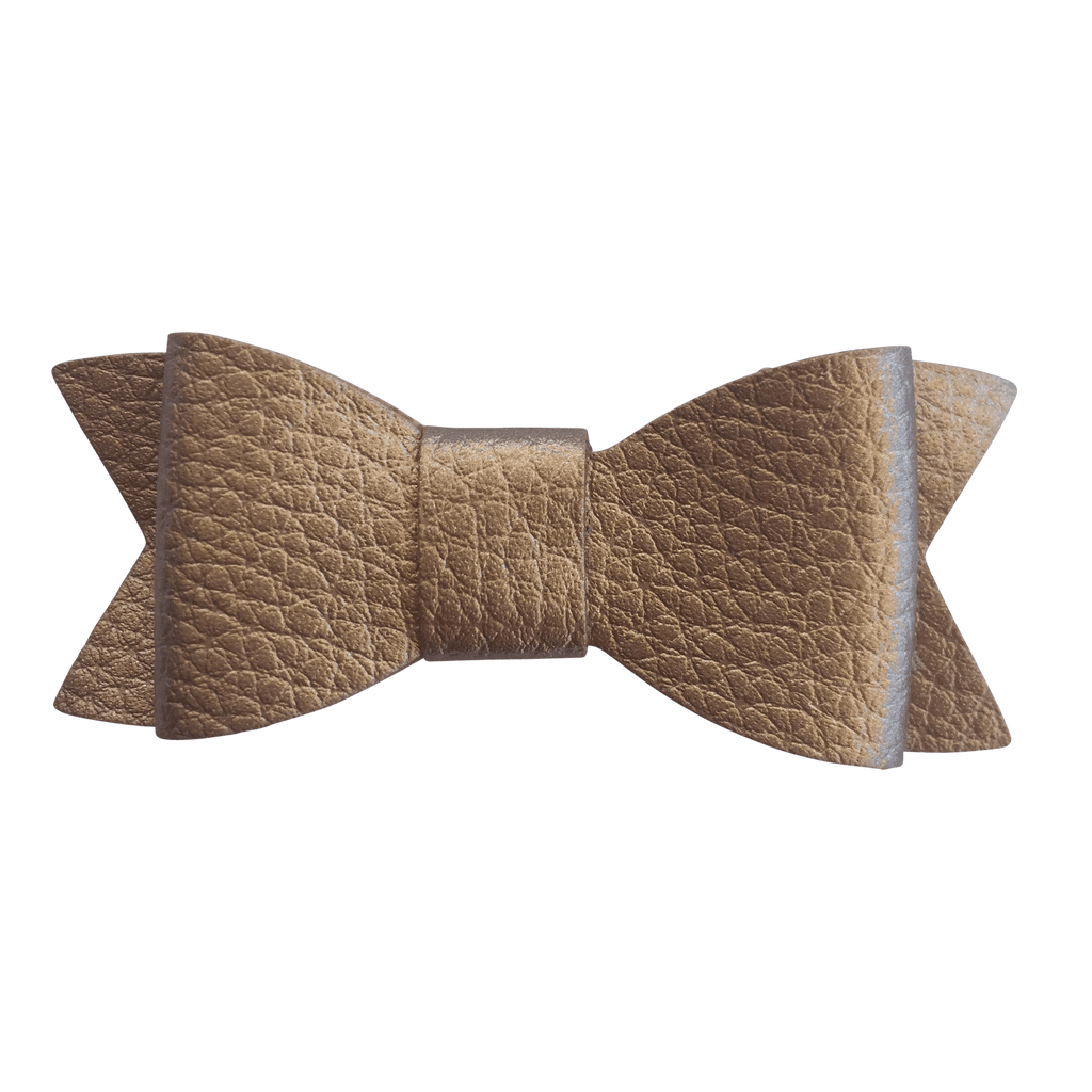 Bowties for Boys - Faux Leather - Ponytails and Fairytales