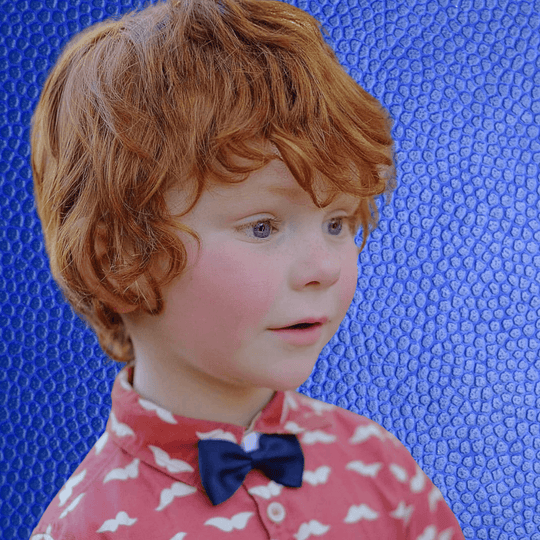 Bowties for Boys - Faux Leather - Bow Ties - School Uniform Hair Accessories - Ponytails and Fairytales