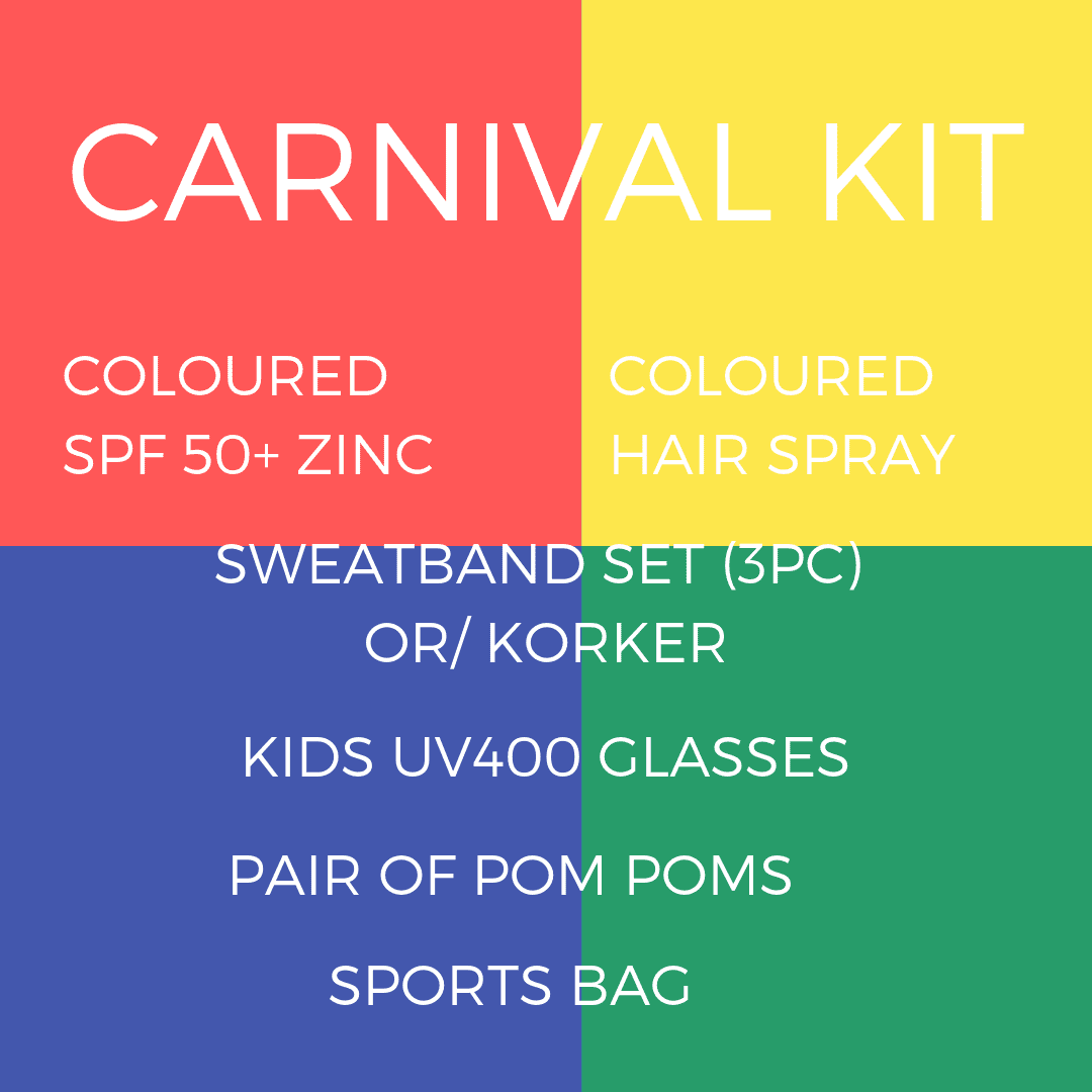 Carnival Kit - Carnival and event - School Uniform Hair Accessories - Ponytails and Fairytales