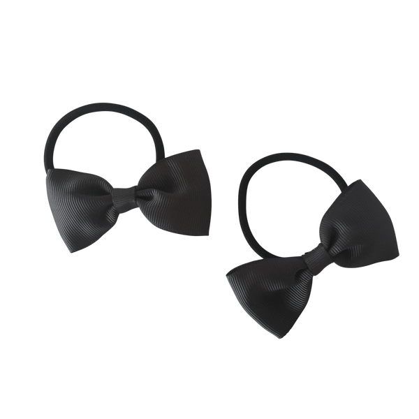 Charcoal Grey Hair Accessories - Assorted Hair Accessories - School Uniform Hair Accessories - Ponytails and Fairytales