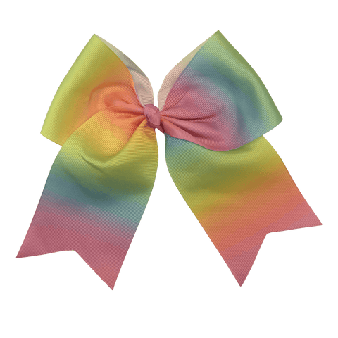 Cheer Bow - Ombre - Ponytails and Fairytales