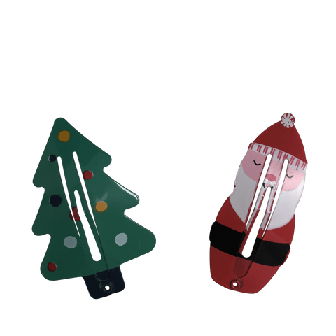 Christmas Snap Clips - christmas - School Uniform Hair Accessories - Ponytails and Fairytales