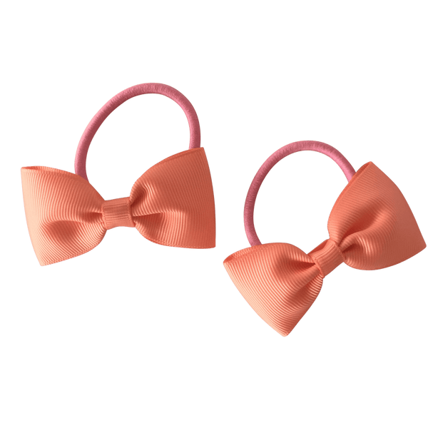 Coral Hair Accessories - Assorted Hair Accessories - School Uniform Hair Accessories - Ponytails and Fairytales