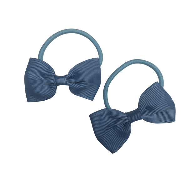 Cornflower Blue Hair Accessories - Assorted Hair Accessories - School Uniform Hair Accessories - Ponytails and Fairytales