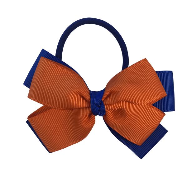 Double Layer Bow Hair Tie - hair ties - School Uniform Hair Accessories - Ponytails and Fairytales