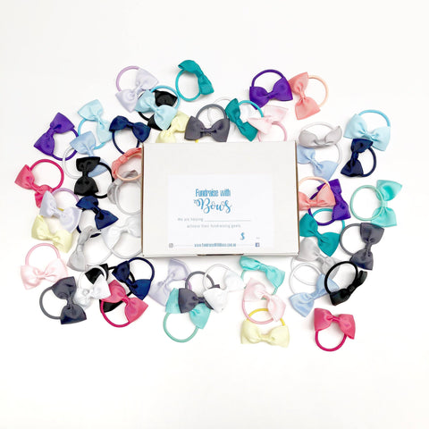 Fundraise with Bows - Fundraising Box (50pc) - Ponytails and Fairytales