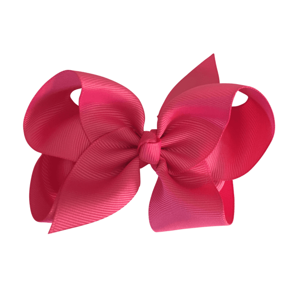 Fuschia Pink Hair Accessories - Assorted Hair Accessories - School Uniform Hair Accessories - Ponytails and Fairytales