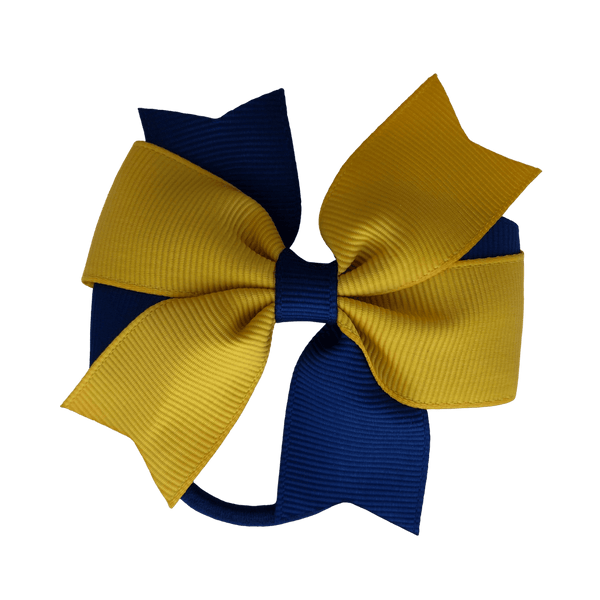 Gold & Navy Hair Accessories - Assorted Hair Accessories - School Uniform Hair Accessories - Ponytails and Fairytales