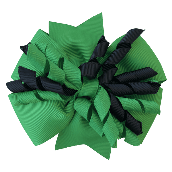 Green & Black Hair Accessories - Assorted Hair Accessories - School Uniform Hair Accessories - Ponytails and Fairytales