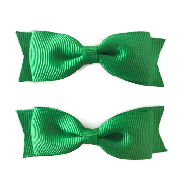 Green Hair Accessories - Assorted Hair Accessories - School Uniform Hair Accessories - Ponytails and Fairytales