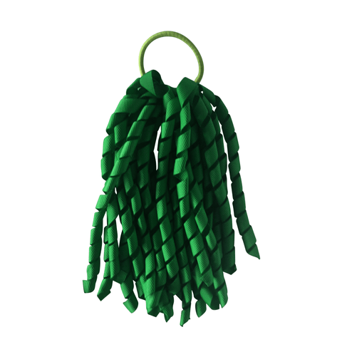 Green Korker - Carnival and event - School Uniform Hair Accessories - Ponytails and Fairytales