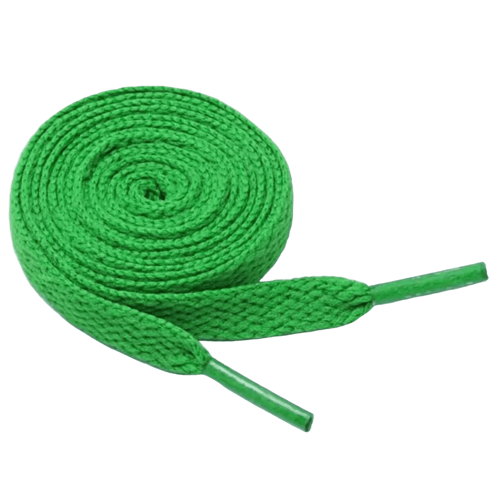 Green Shoe Laces - Carnival and event - School Uniform Hair Accessories - Ponytails and Fairytales