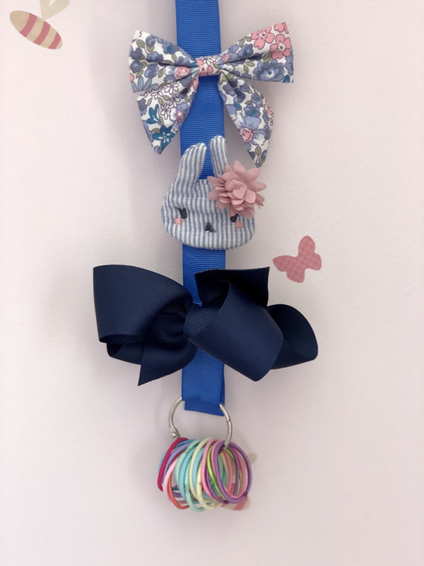 Hair Lacky, Bobble, and Bow Split Ring Holder - Storage and display - School Uniform Hair Accessories - Ponytails and Fairytales
