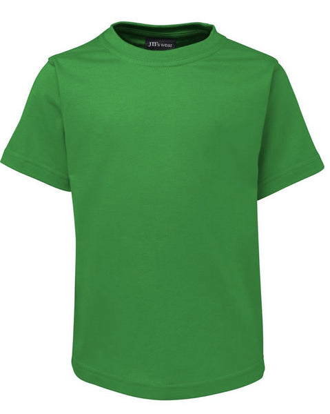 Kids Plain Faction/House T-Shirt Carnival and event School Ponytails - Event 2 Green