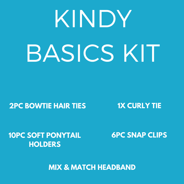 Kindy Basics Kit (20pc) - School kits - School Uniform Hair Accessories - Ponytails and Fairytales