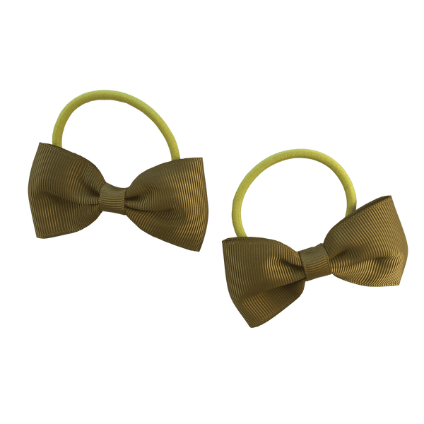 Mustard Hair Accessories - Assorted Hair Accessories - School Uniform Hair Accessories - Ponytails and Fairytales