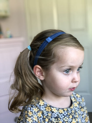 'One Size Fits All' Adjustable Elastic Headband - Ponytails and Fairytales