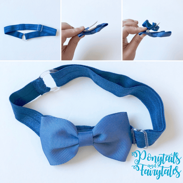 'One Size Fits All' Adjustable Elastic Headband - Headbands - School Uniform Hair Accessories - Ponytails and Fairytales