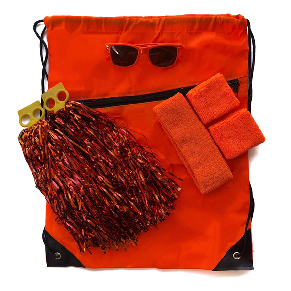 Orange Carnival Bag - Carnival and event - School Uniform Hair Accessories - Ponytails and Fairytales