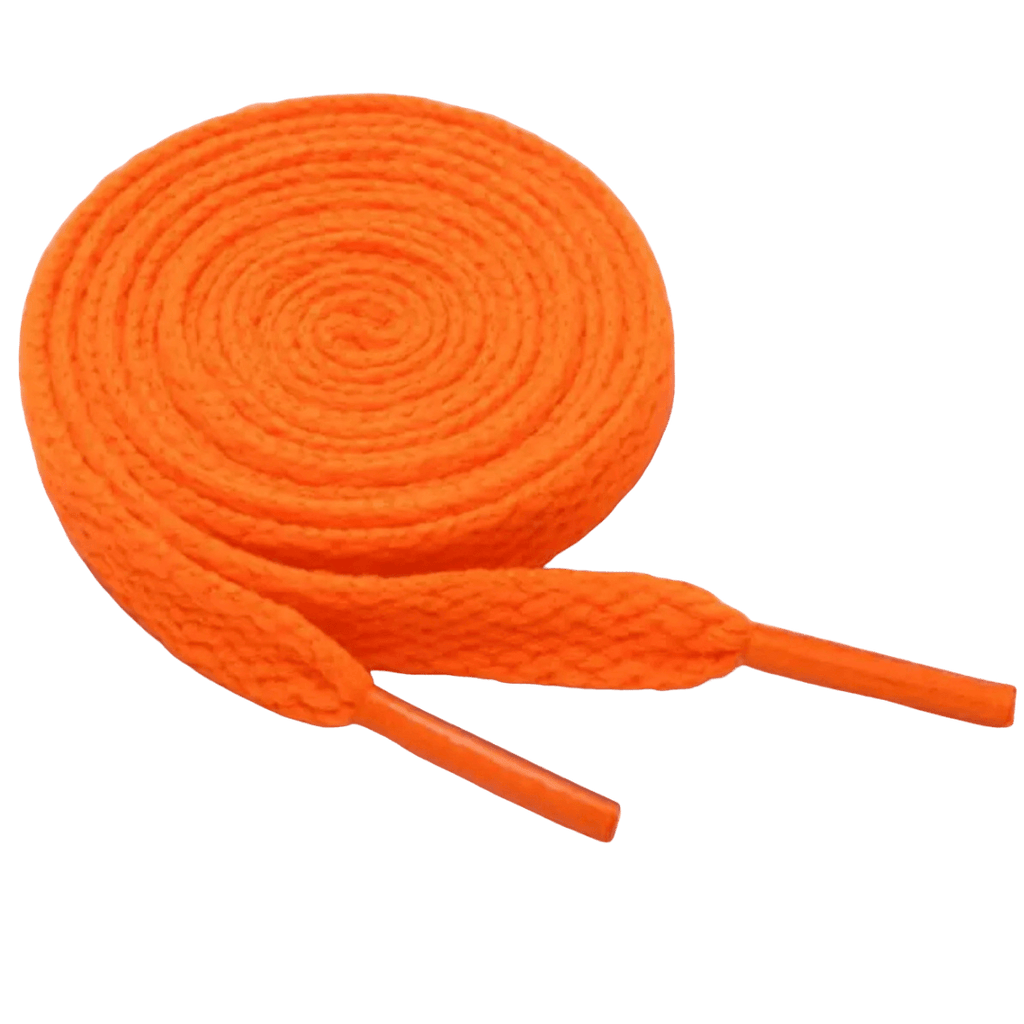 Orange Shoe Laces - Carnival and event - School Uniform Hair Accessories - Ponytails and Fairytales