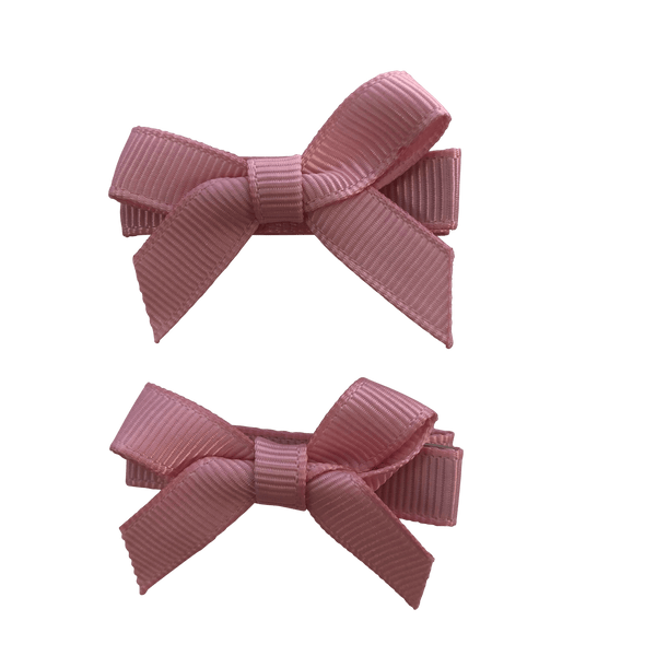 Peony Pink Hair Accessories - Assorted Hair Accessories - School Uniform Hair Accessories - Ponytails and Fairytales
