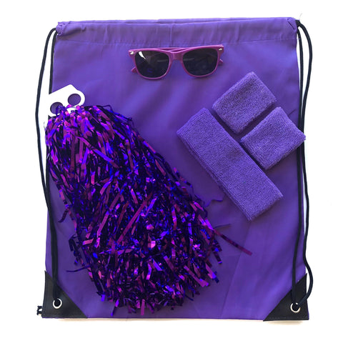 Purple Carnival Bag - Carnival and event - School Uniform Hair Accessories - Ponytails and Fairytales