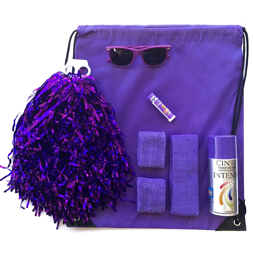 Purple Carnival Kit - Ponytails and Fairytales