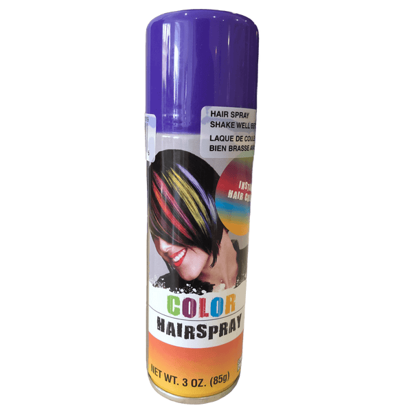 Purple Coloured Hair Spray 85-100g - Coloured hair spray - School Uniform Hair Accessories - Ponytails and Fairytales