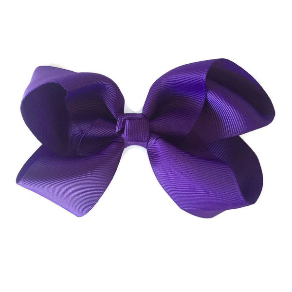 Purple Hair Accessories - Ponytails and Fairytales