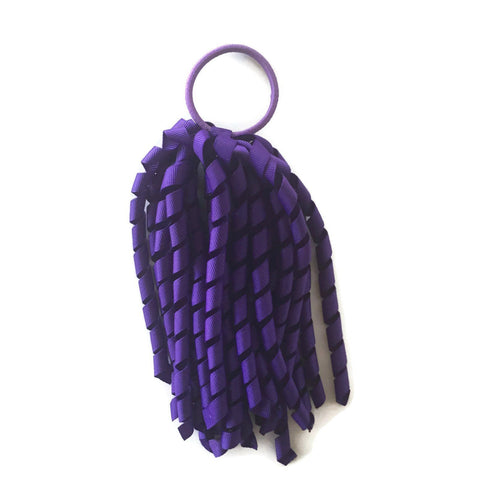 Purple Korker - Carnival and event - School Uniform Hair Accessories - Ponytails and Fairytales