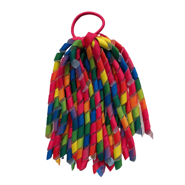 Rainbow Hair Accessories - Assorted Hair Accessories - School Uniform Hair Accessories - Ponytails and Fairytales