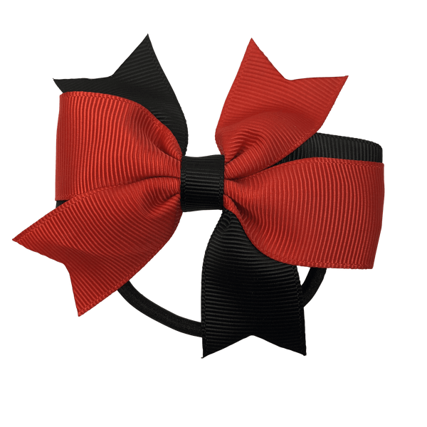 Red & Black Hair Accessories - Assorted Hair Accessories - School Uniform Hair Accessories - Ponytails and Fairytales