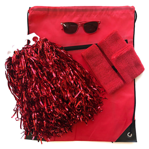 Red Carnival Bag - Carnival and event - School Uniform Hair Accessories - Ponytails and Fairytales