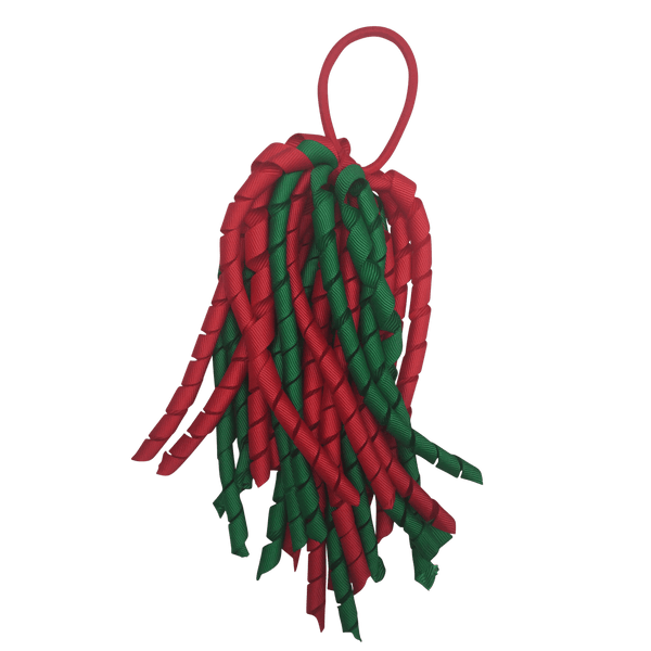 Red & Green Hair Accessories - Assorted Hair Accessories - School Uniform Hair Accessories - Ponytails and Fairytales