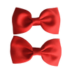 Bowtie Hair Clips (2pc)