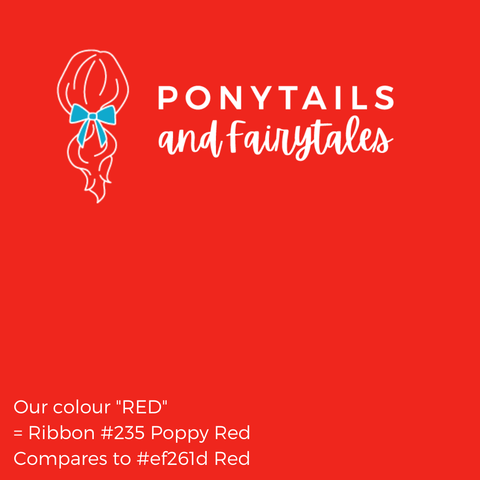 Red Hair Accessories - Ponytails and Fairytales