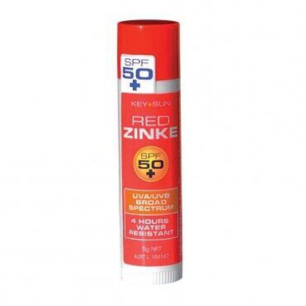 Red Zinc Stick SPF 50+ - Coloured zinc SPF - School Uniform Hair Accessories - Ponytails and Fairytales