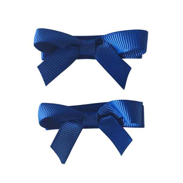 Royal Blue Hair Accessories - Ponytails and Fairytales