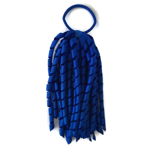 Royal Blue Korker - Carnival and event - School Uniform Hair Accessories - Ponytails and Fairytales