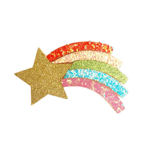 Shooting Star Clip - Hair clips - School Uniform Hair Accessories - Ponytails and Fairytales