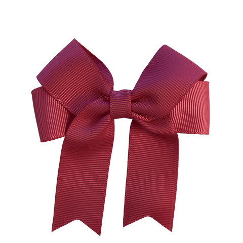 Simple Bow Clip - Hair clips - School Uniform Hair Accessories - Ponytails and Fairytales