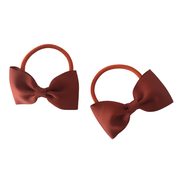 Terracotta / Burnt Orange Hair Accessories - Assorted Hair Accessories - School Uniform Hair Accessories - Ponytails and Fairytales