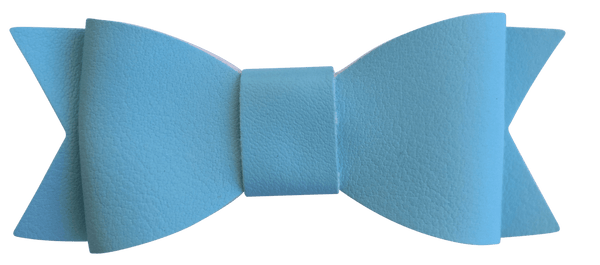 Tilly PU Petite Bowtie - Hair clips - School Uniform Hair Accessories - Ponytails and Fairytales