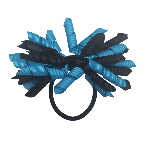 Turquoise & Navy Hair Accessories - Assorted Hair Accessories - School Uniform Hair Accessories - Ponytails and Fairytales