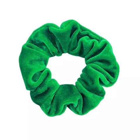 Velvet School Scrunchies - hair ties - School Uniform Hair Accessories - Ponytails and Fairytales