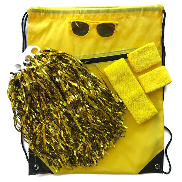 Yellow Carnival Bag - Carnival and event - School Uniform Hair Accessories - Ponytails and Fairytales