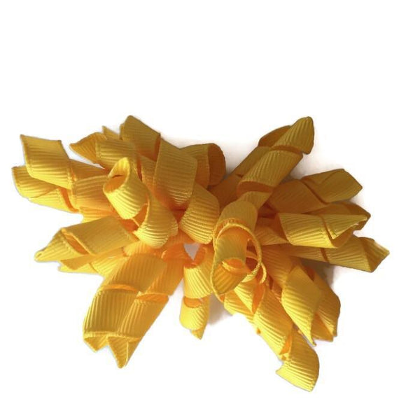 Yellow Hair Accessories - Assorted Hair Accessories - School Uniform Hair Accessories - Ponytails and Fairytales