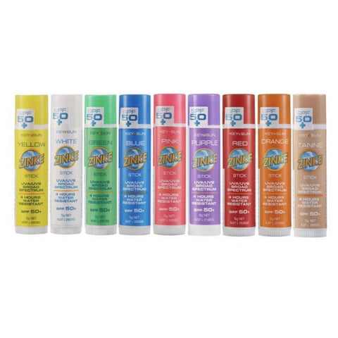 Zinc Stick SPF 50+ - Coloured zinc SPF - School Uniform Hair Accessories - Ponytails and Fairytales